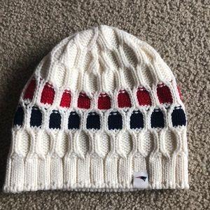 Women's New England Patriots winter hat